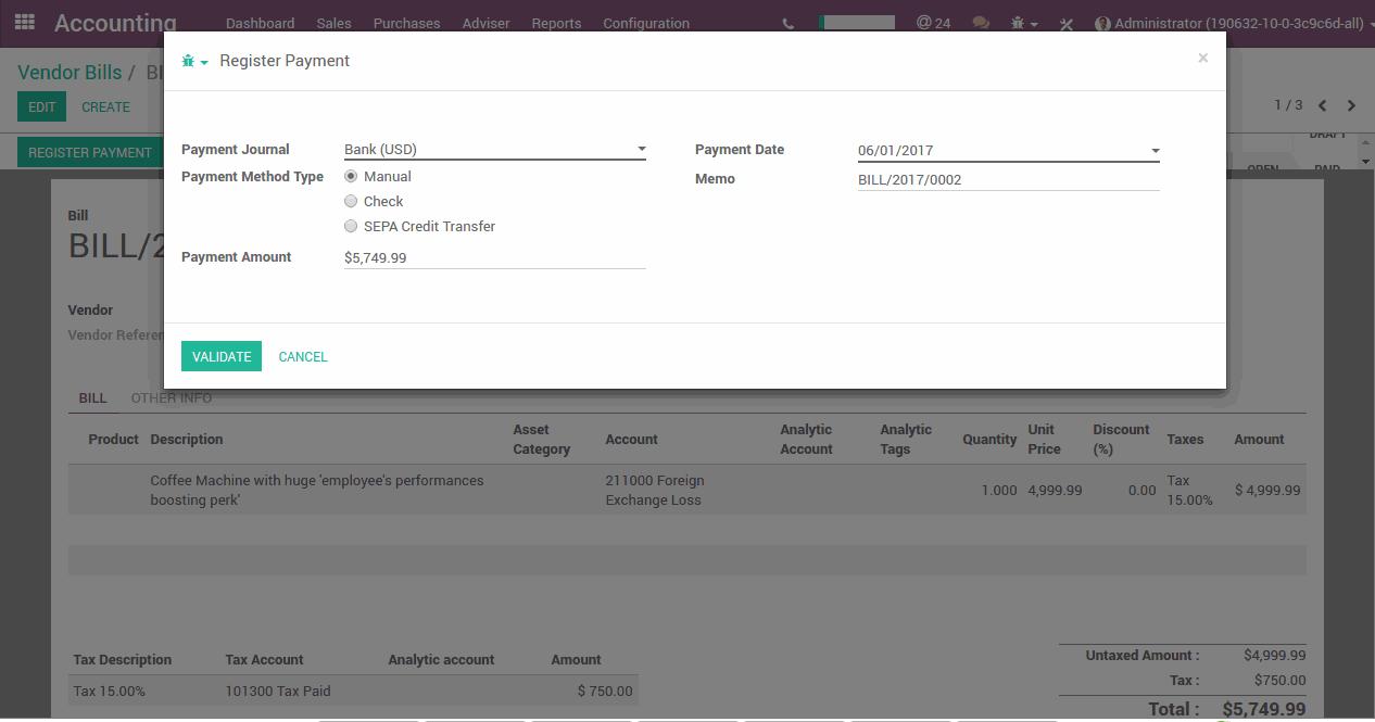 It Is Ag In Odoo Elektronische Rechnungen Erstellen