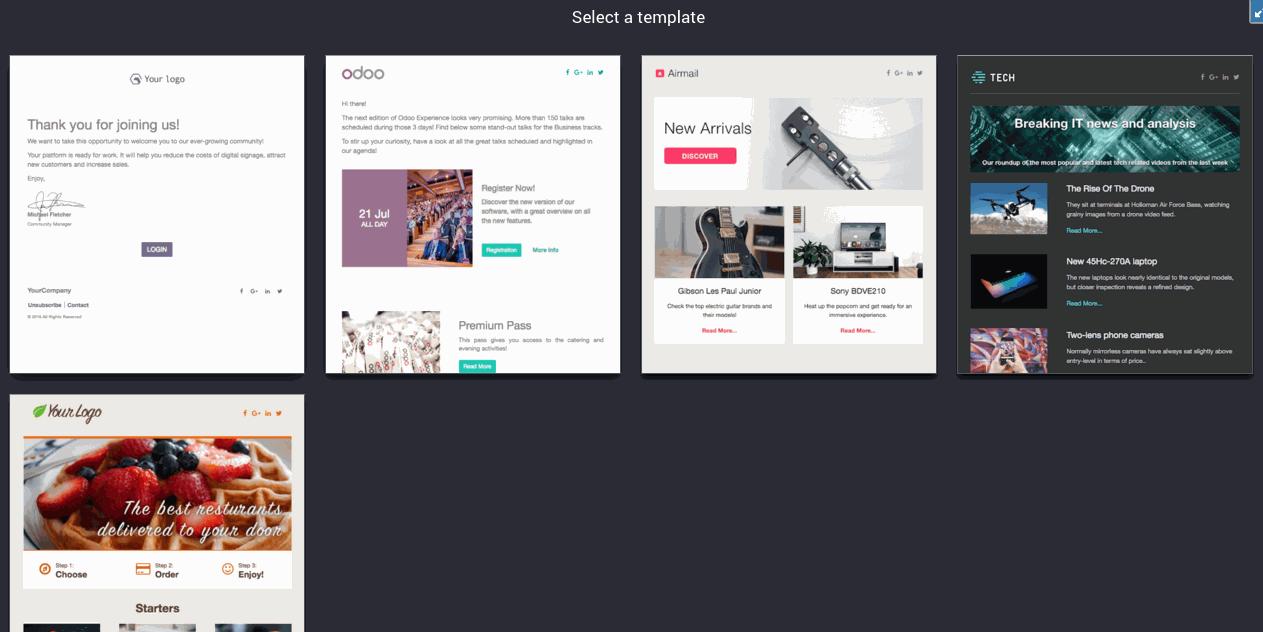 IT IS - Odoo | E-mail-Marketing